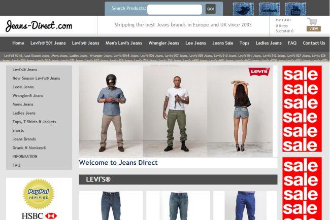 Интернет-магазин Jeans-direct.com