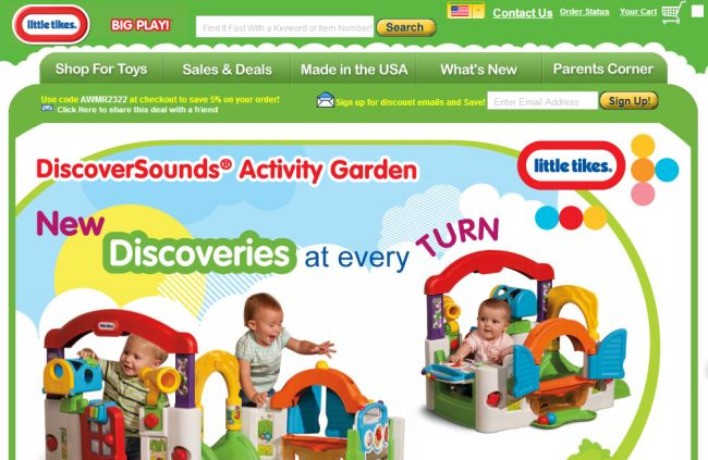 Интернет-магазин Littletikes.com