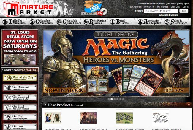 Интернет-магазин Miniaturemarket.com