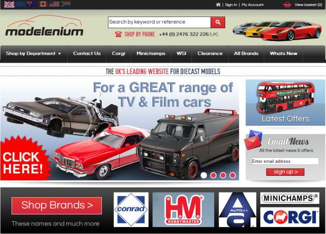 Интернет-магазин Modelenium.co.uk