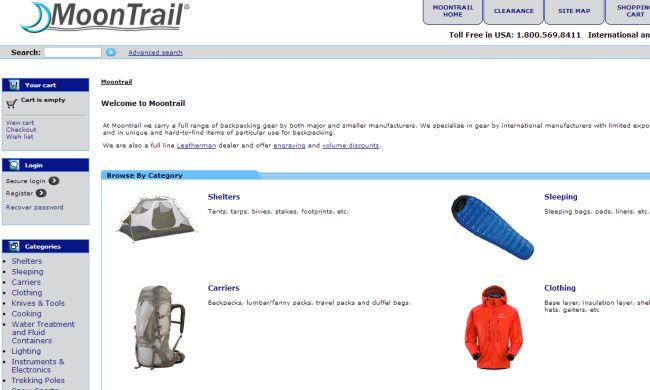 Интернет-магазин Moontrail.com