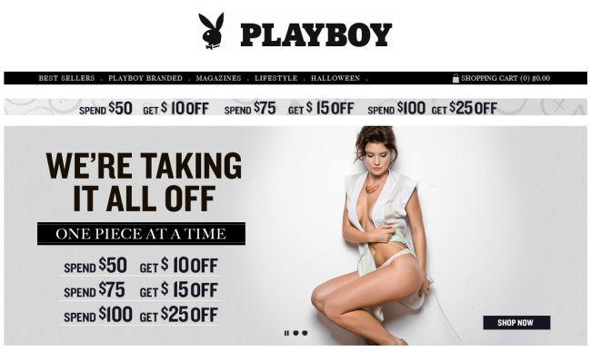 Интернет-магазин Playboystore.com