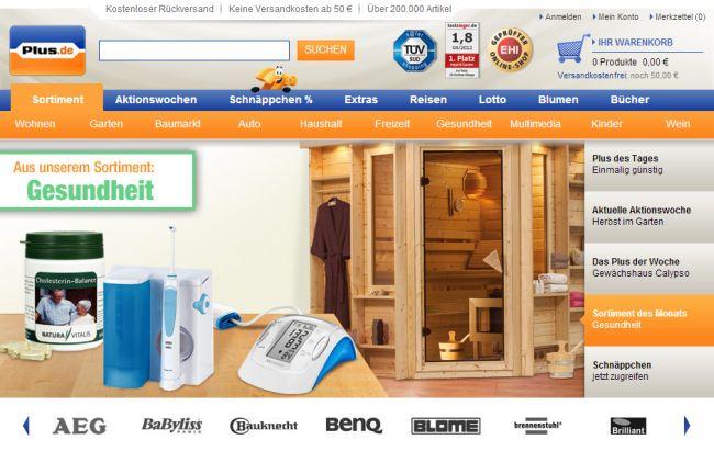 Интернет-магазин Plus.de