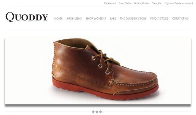Интернет-магазин Quoddy.com