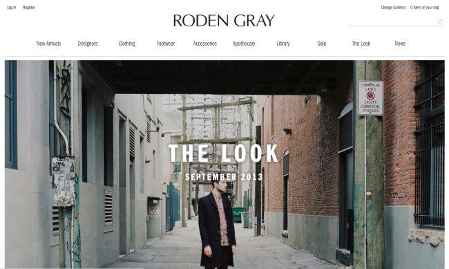 Интернет-магазин RodenGray.com