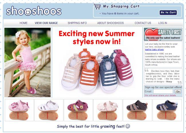 Интернет-магазин Shooshoosusa.com