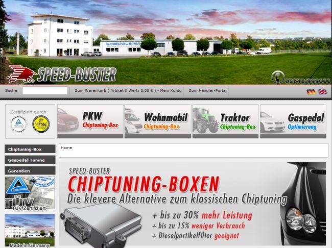 Интернет-магазин Speed-buster.de