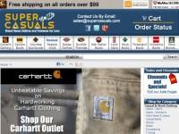 Интернет-магазин Supercasuals.com