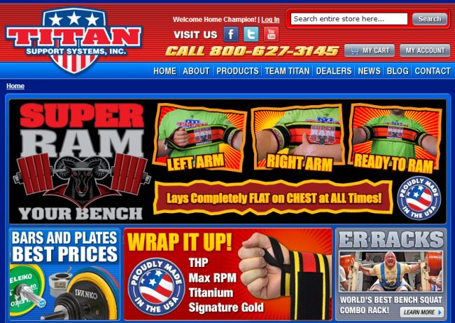 Интернет-магазин Titansupport.com