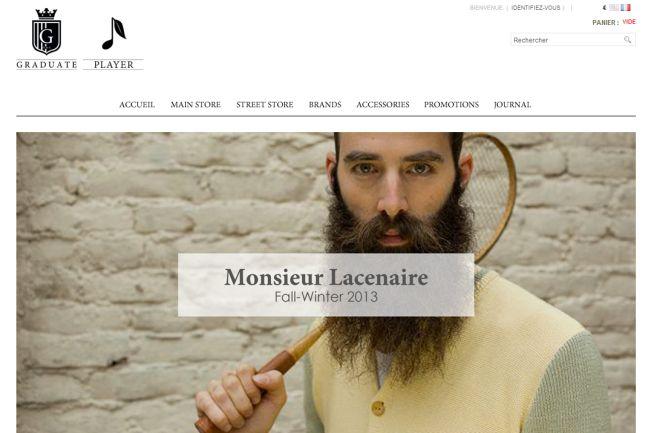 Интернет-магазин Graduatestore.fr