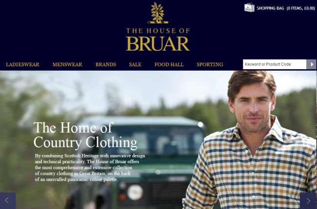 Интернет-магазин Houseofbruar.com