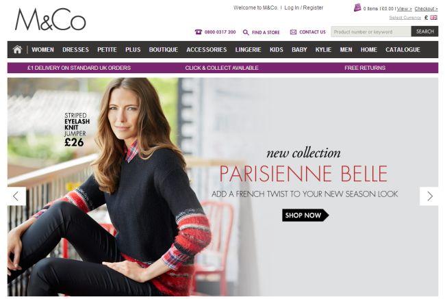 Интернет-магазин Mandco.com