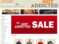 Интернет-магазин Not-addicted.co.uk