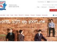 Интернет-магазин Scootssuitsandboots.com