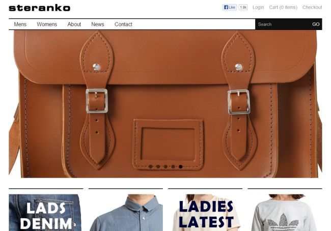 Интернет-магазин Steranko.co.uk