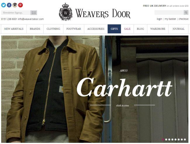 Интернет-магазин Weaversdoor.com
