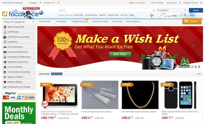Интернет-магазин FocalPrice.com