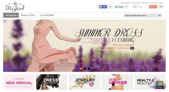 Интернет-магазин Fiigirl.com