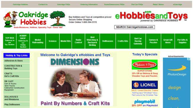 Интернет-магазин Ehobbiesandtoys.com