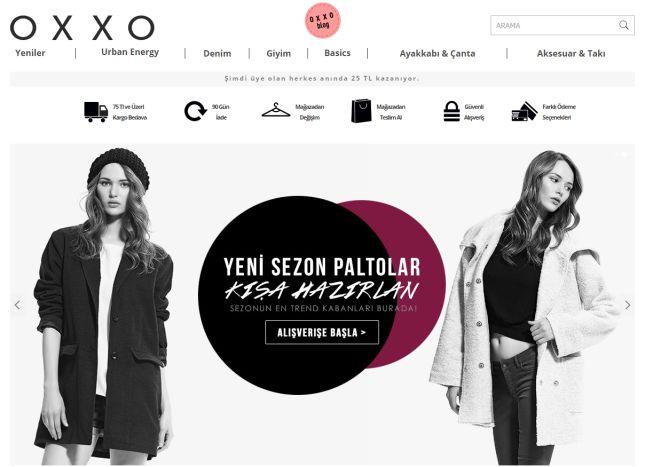 Интернет-магазин Oxxo.com.tr